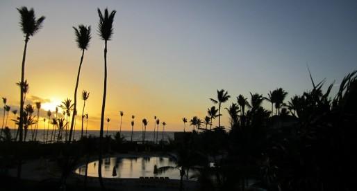 A Solo Sunrise: Punta Cana Style
