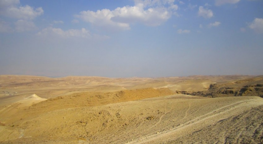 First Views of the Negev: A Photo Essay