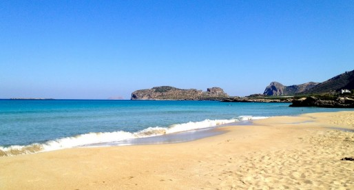 F is for FALASSARNA: Our Favorite Beach on Crete