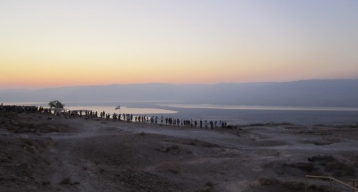 Sunrise at Mount Masada: A Bright and Cheery Photo Essay