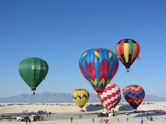 White Sands Balloon Festival New Mexico