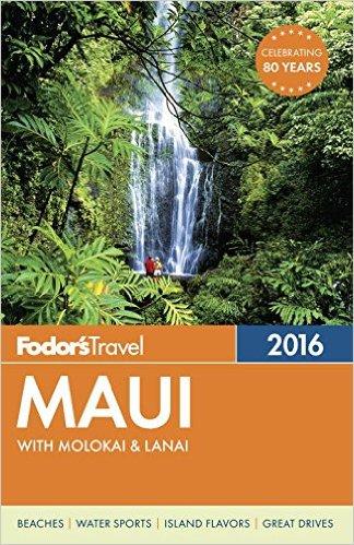 fodors maui travel book