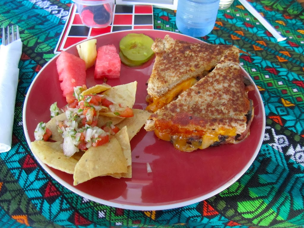 grilled cheese san pedro belize