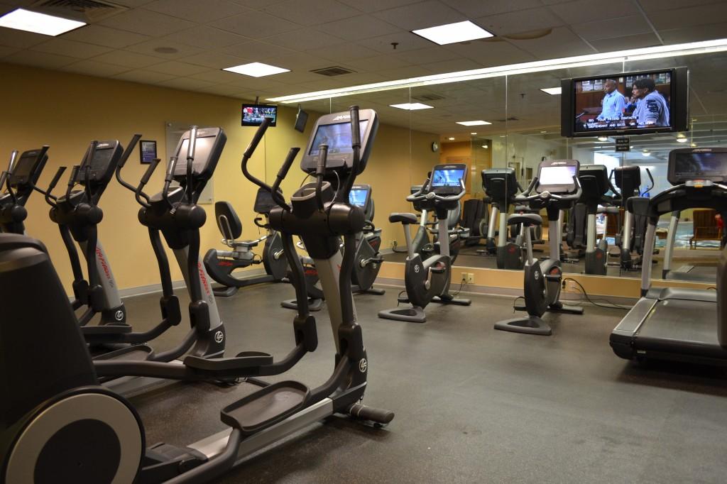 gym at hyatt regency boston