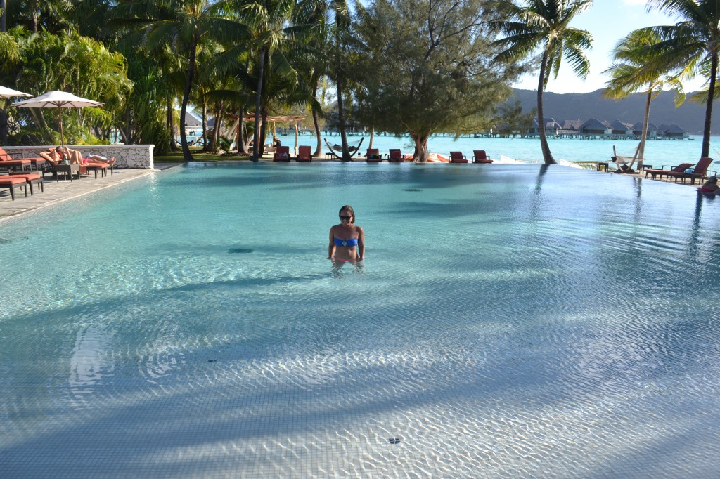 pool in bora bora intercontinental