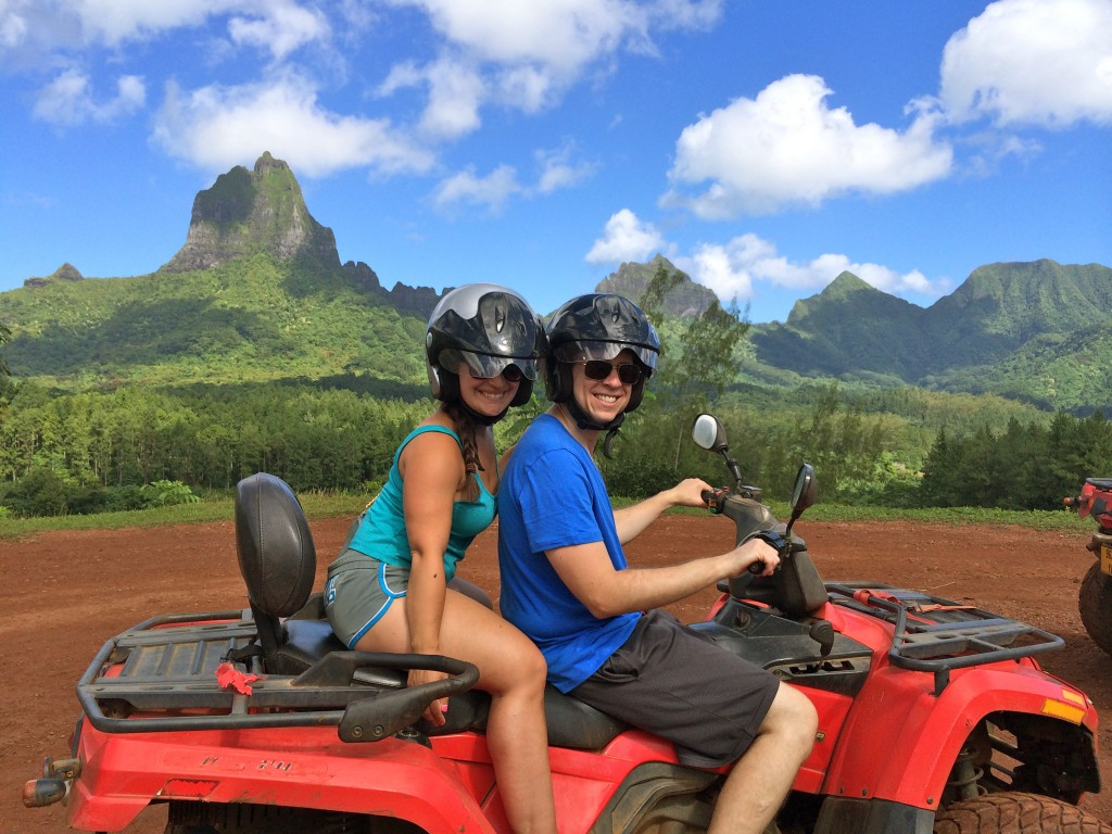 atv tour in moorea
