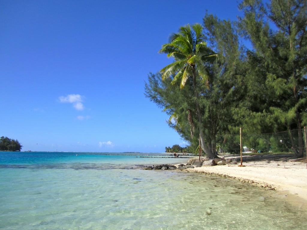 moorea tahiti beach