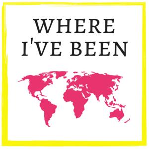 where i've been