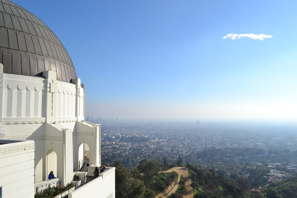 Griffith Observatory in LA, California