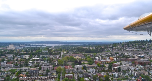 City Views from a Seattle Seaplane [Photos]