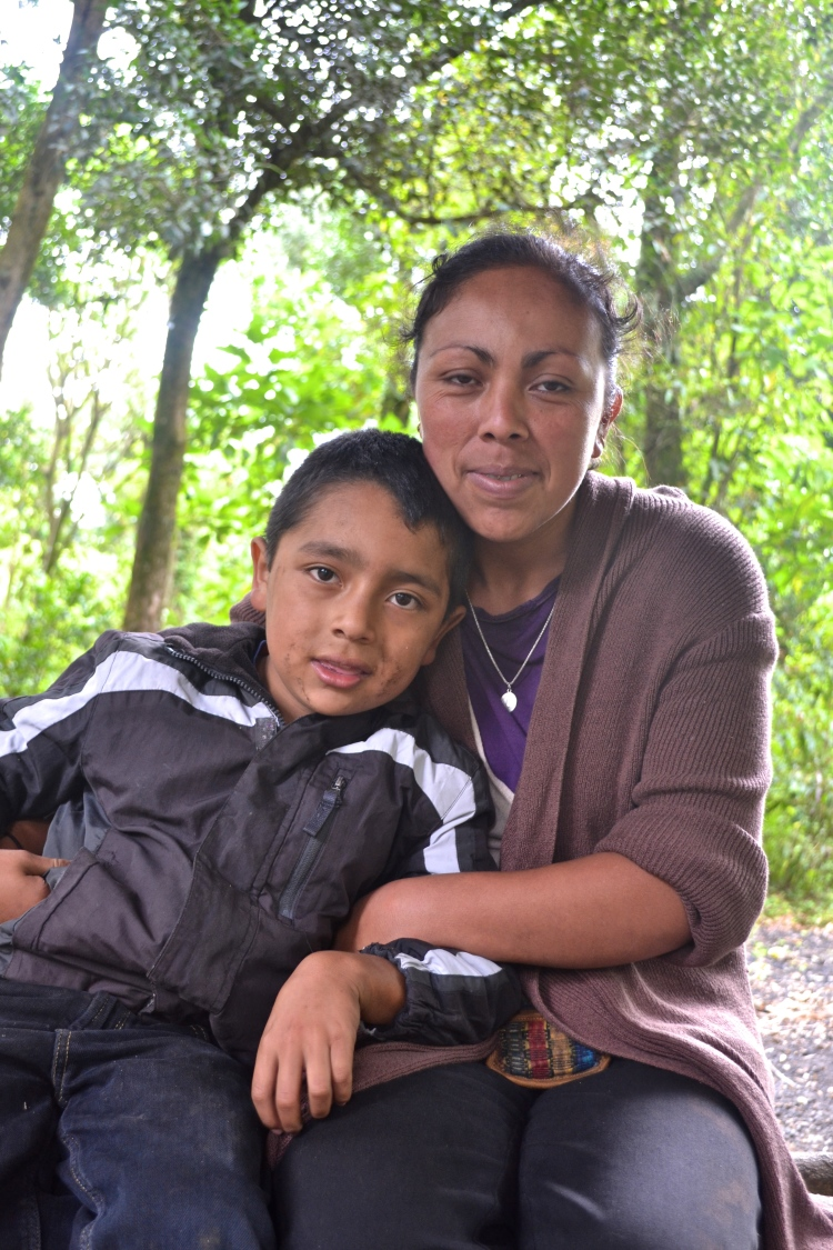 mother and son guatemala