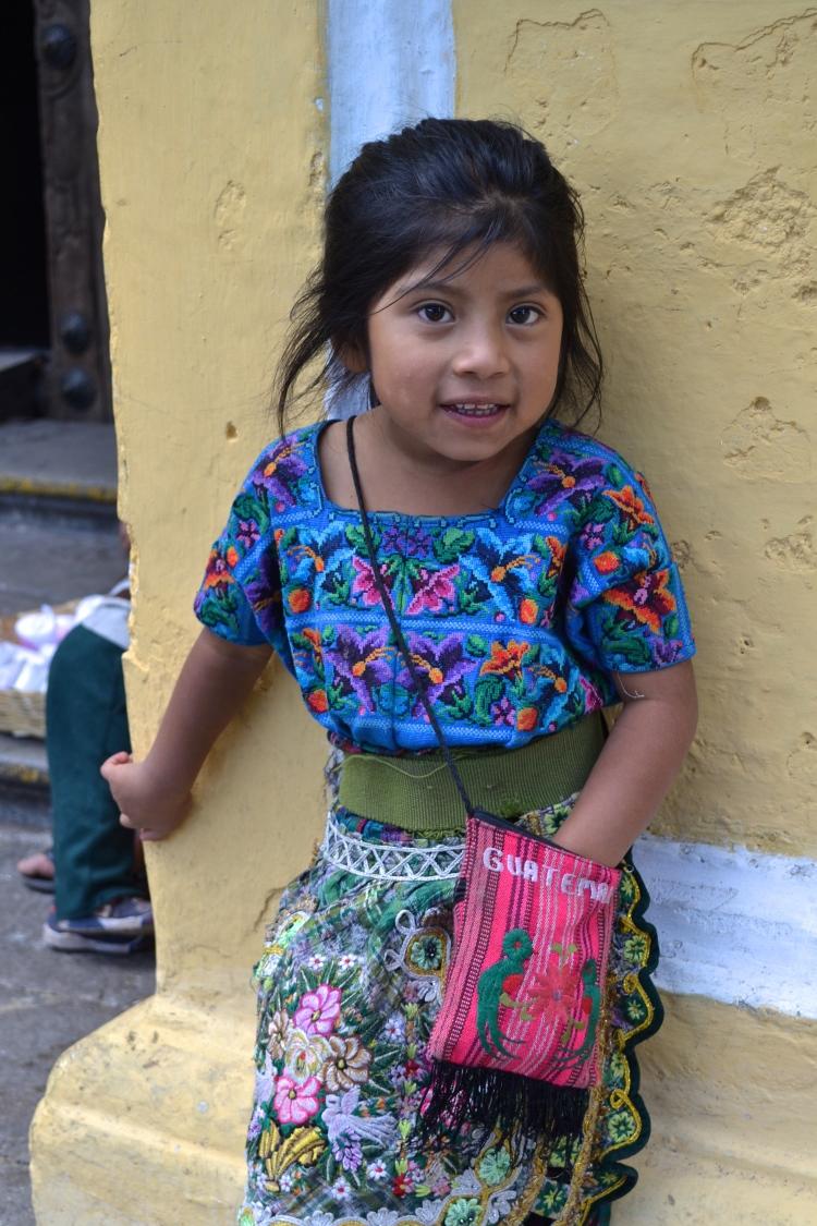 mayan girl guatemala