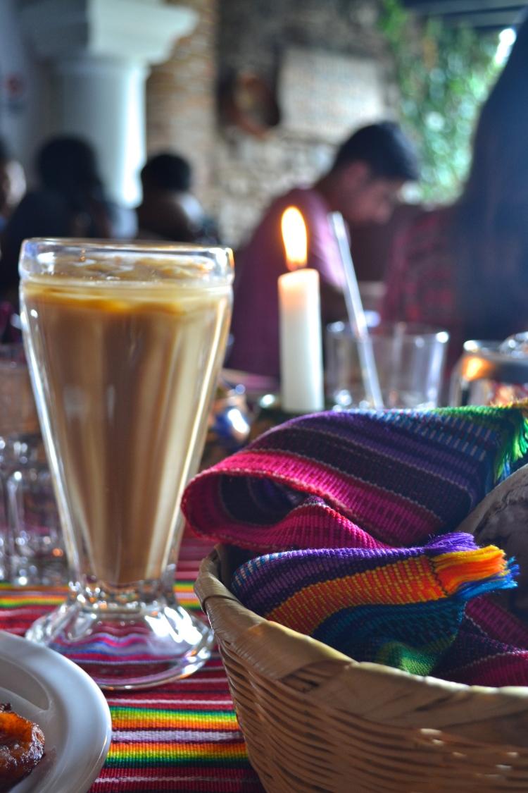 iced coffee guatemala