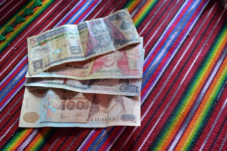 guatemala money quetzales