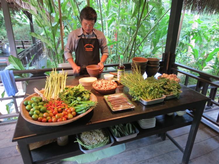 Things to do in Luang Prabang: Cooking at Tamarind Cooking School