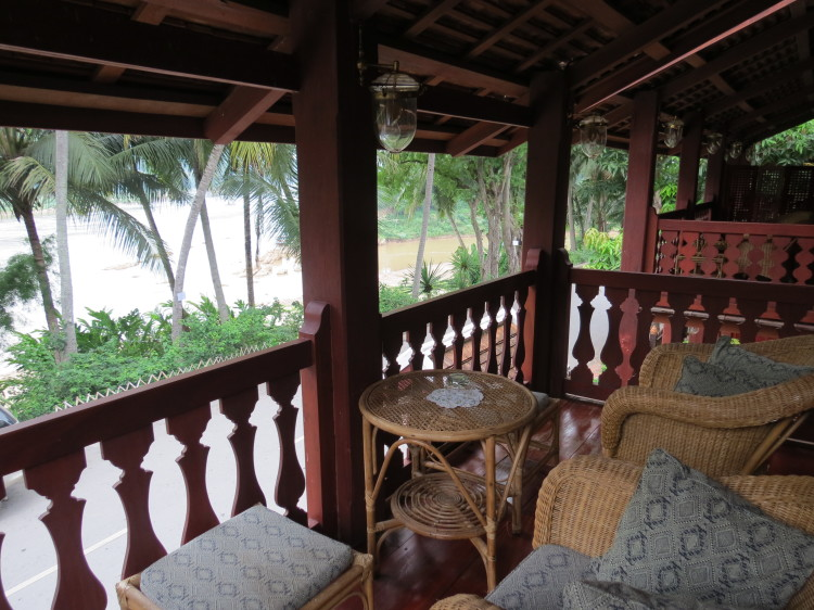 Things to do in Luang Prabang: view of Mekong from Mekong Riverview