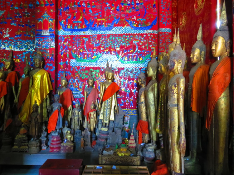 Things to do in Luang Prabang: Inside Wat Xieng Thong