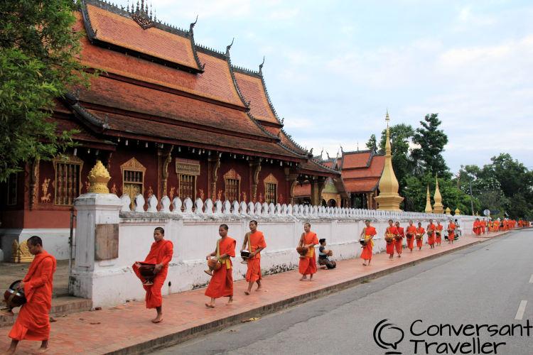 Things to do in Luang Prabang: Tak Bat in Luang Prabang