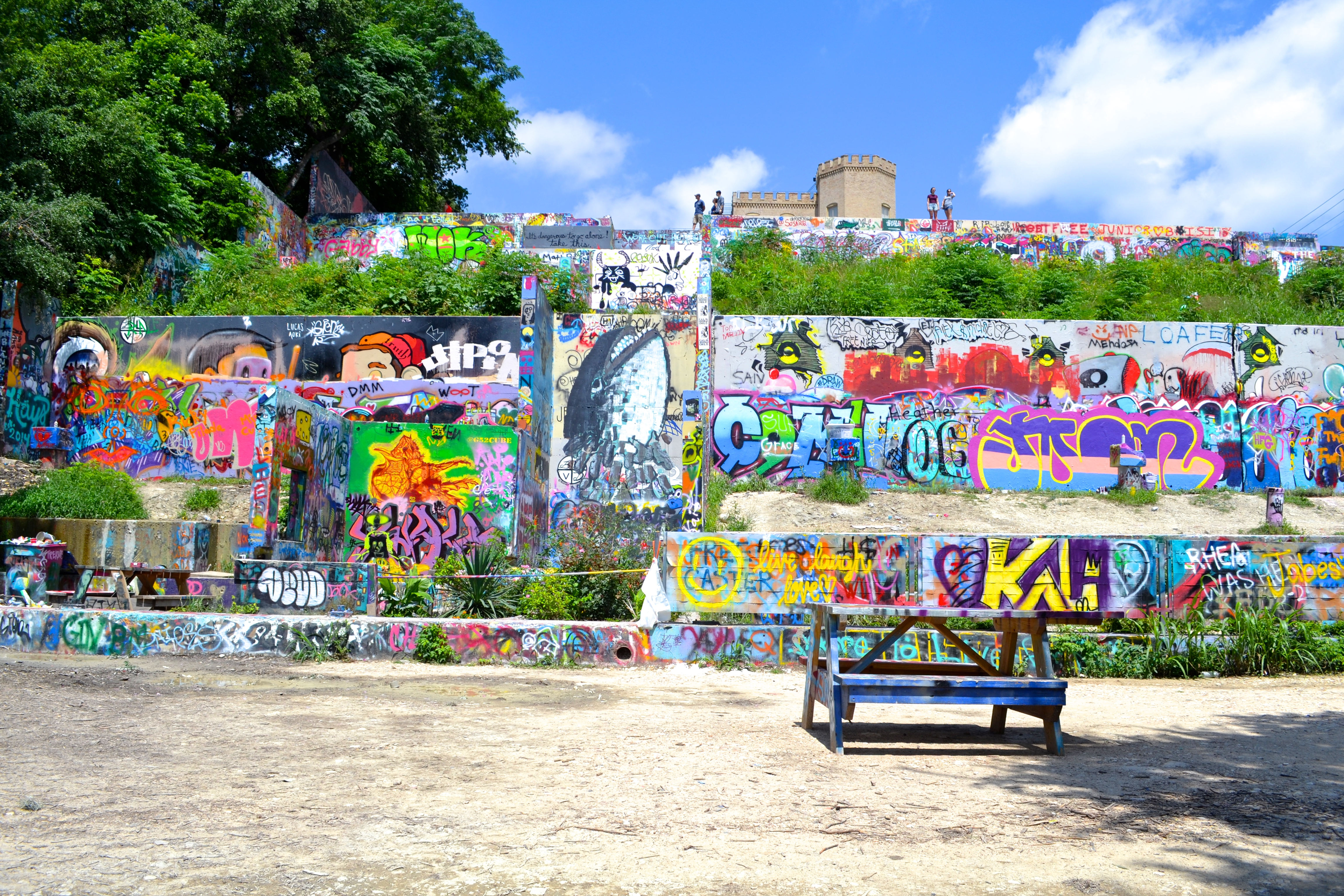 hope outdoor gallery austin texas