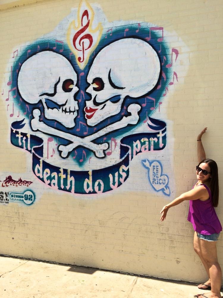 til death do us part mural austin texas