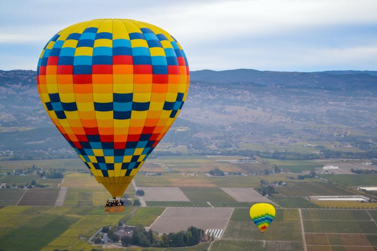 hot air balloon 1-27