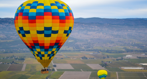 Reaching New Heights in Napa: Hot Air Ballooning over the Valley