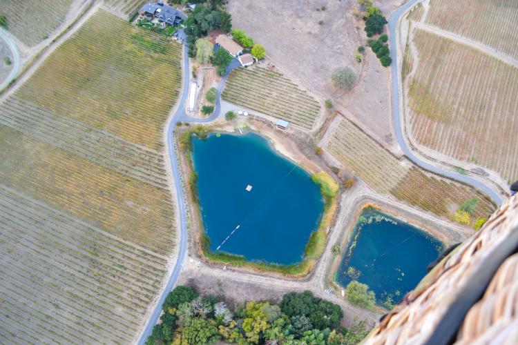 Hot Air Balloon Ride in Napa | www.apassionandapassport.com