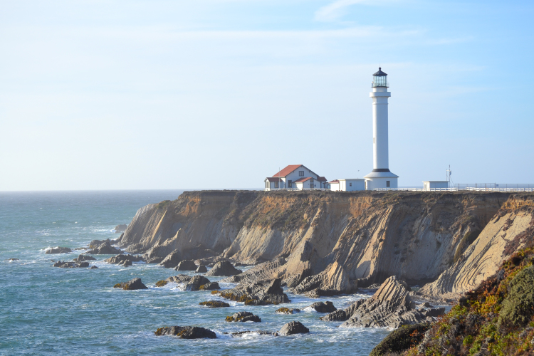 point arena lighthouse highway 1 PCH
