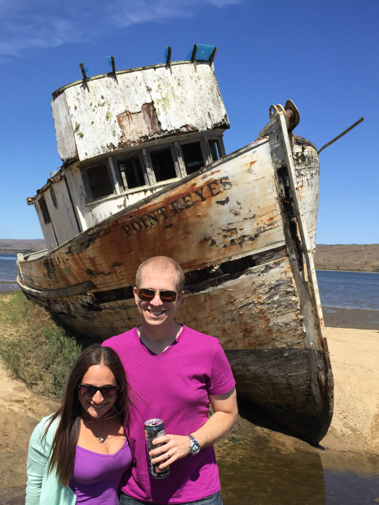 point reyes shipwreck california