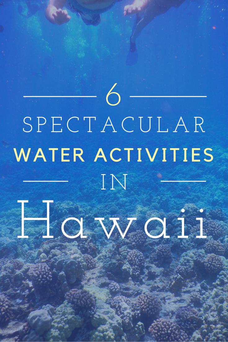 water activities in hawaii