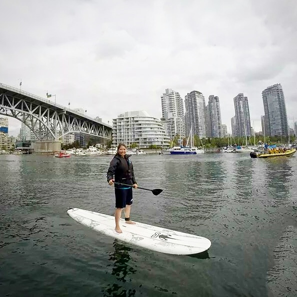 Adelina Paddleboarding Vancouver