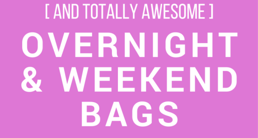 The Best Overnight and Weekend Bags for Traveling