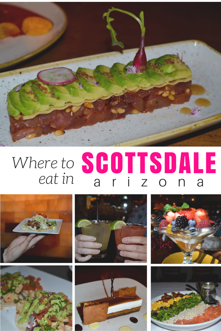 Scottsdale is a foodies city, surprise! Read on for all my suggestions on where to eat in Scottsdale, Arizona! | www.apassionandapassport.com