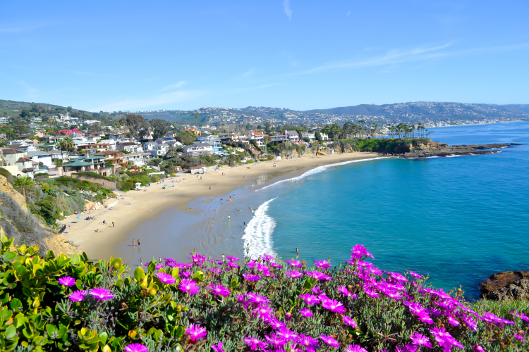 laguna beach in february