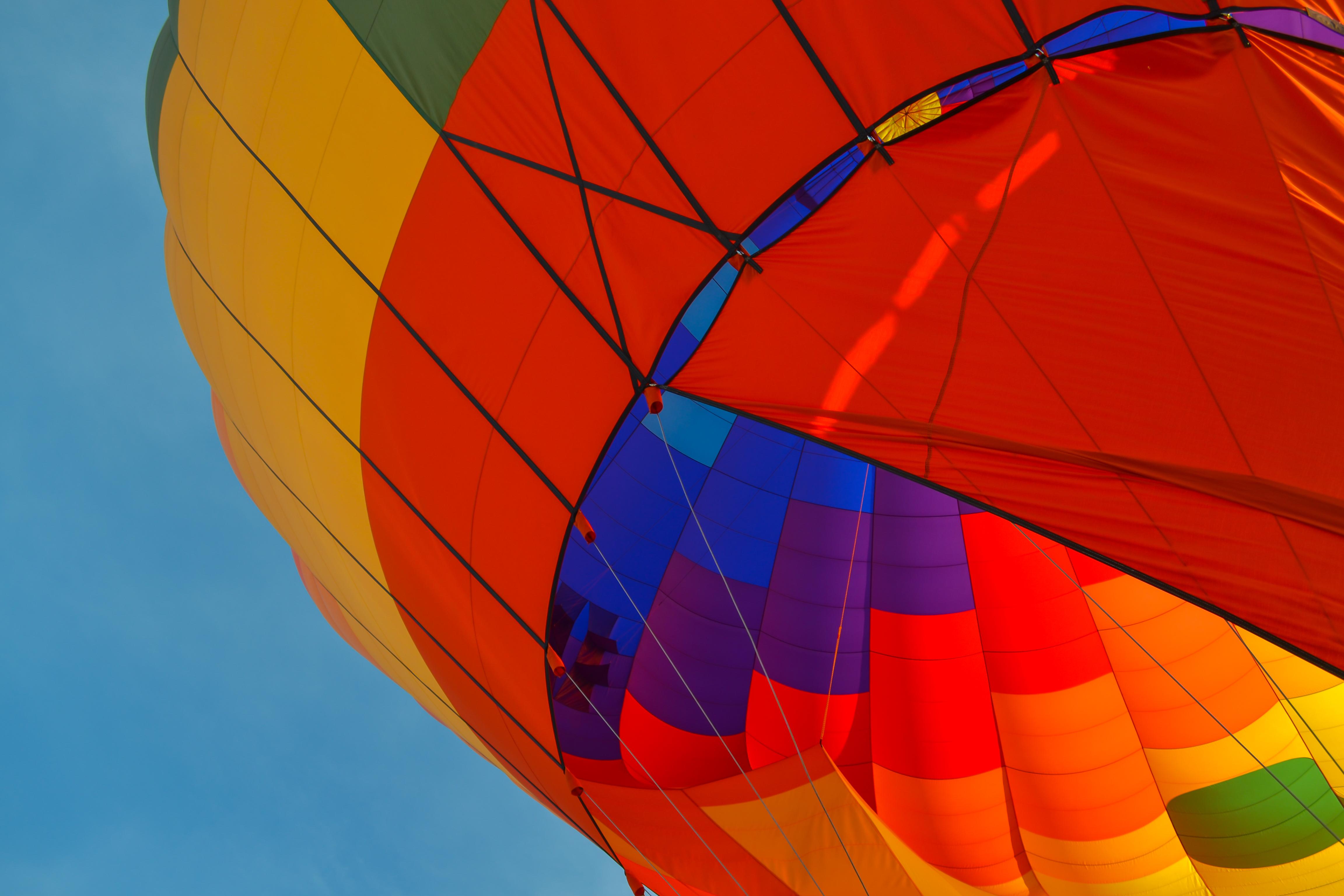 air balloon in scottsdale soaring high above the desert