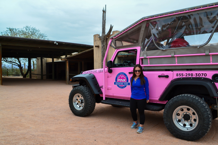 Off Roading in the Sonoran Desert with Pink Jeep Tours >> a fun filled morning in Scottsdale, Arizona | WWW.APASSIONANDAPASSPORT.COM