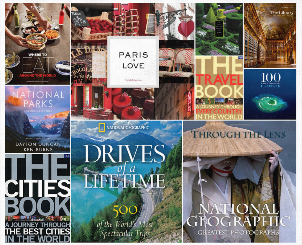 16 beautiful travel coffee table books for Best coffee table books 2016