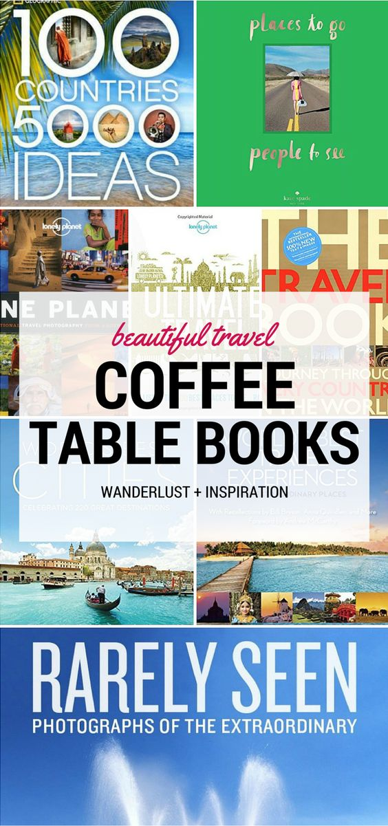 Looking for the best travel coffee table books?! Check out my top 16 favorites!