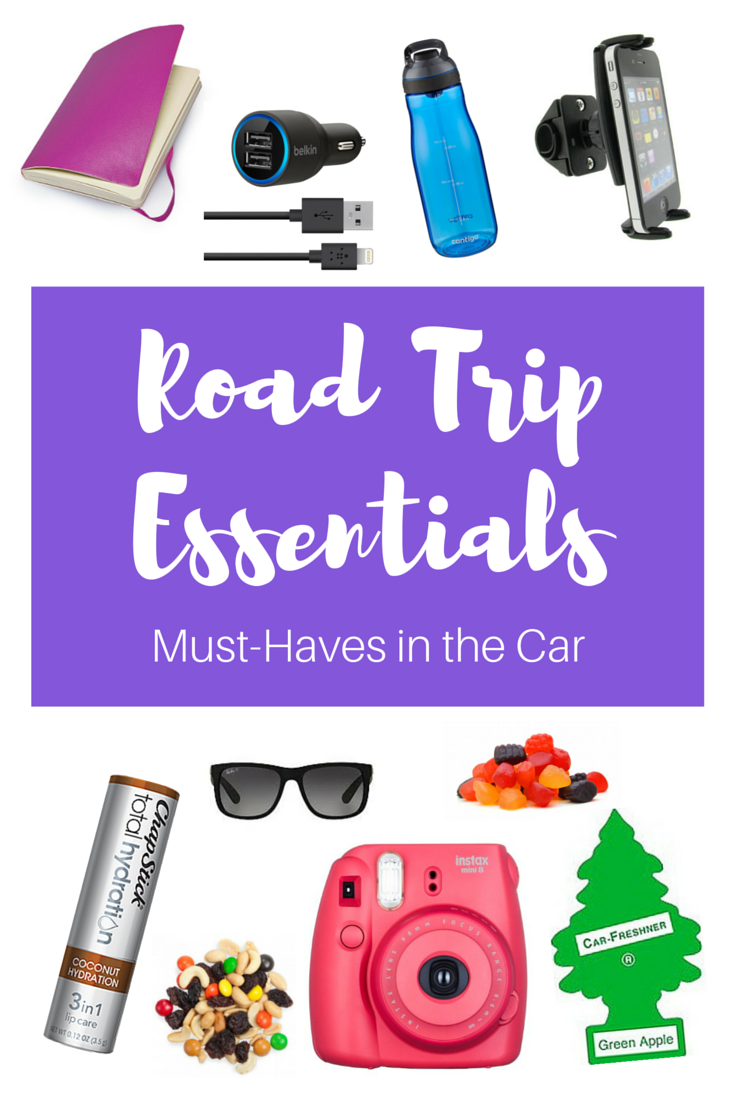 Road Trip Essentials: What you Need to Pack on Any Road Trip!   www.apassionandapassport.com
