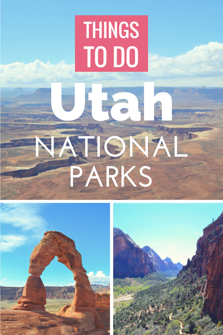 Heading out on a Utah Road Trip soon! Hoping to reach all 5 Utah National Parks in just one week? Check out this post >> it's totally possible to visit all on a one week in Utah road trip!