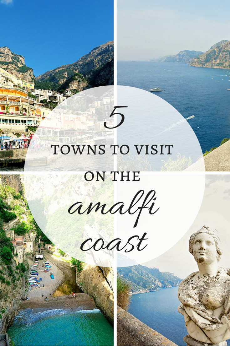 towns to visit on the amalfi coast