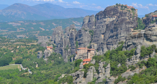 Majestic Meteora: A Day Exploring Ancient Greek Monasteries