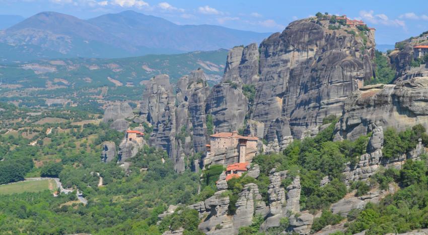 Majestic Meteora: A Day Exploring Ancient Greek Monasteries