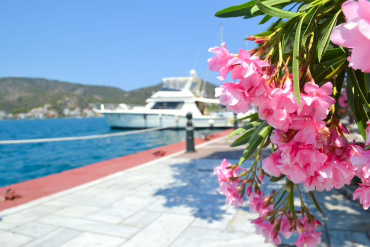 Sailing to THREE Greek islands in One Day from Athens >> By far a favorite day trip of mine! Learn about the logistics here!