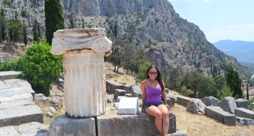 Diving into the History of Delphi: Greece circa 500 BC