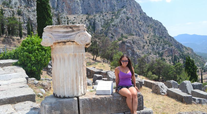 Diving into the History of Delphi: Greece circa 500 BC