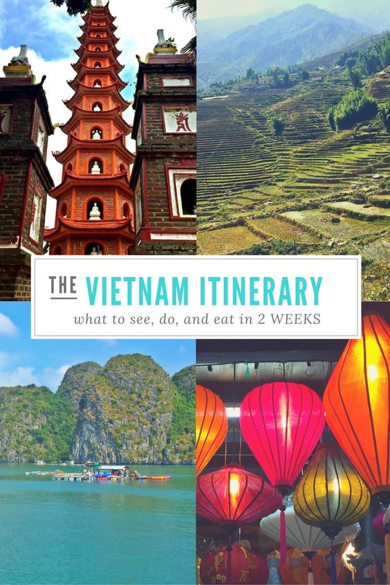 COMPLETE 2 Week Vietnam Itinerary for a fantastic trip to Vietnam! There's just so much to do in Vietnam, you'll want to stay longer than 2 weeks! What a BEAUTIFUL country!