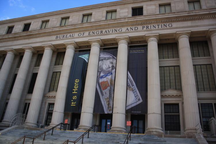 Bureau of Engraving and Printing Washington DC