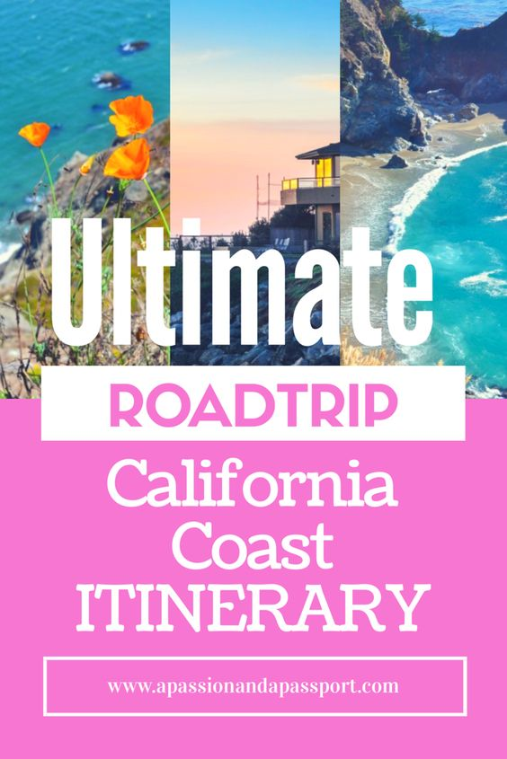 California Coast Road Trip Itinerary! Everything you could ever wonder! Super informative post! Re-pinning for later - hope to get to California this summer!