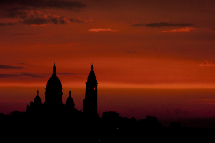 Sacre-Coeur sunset